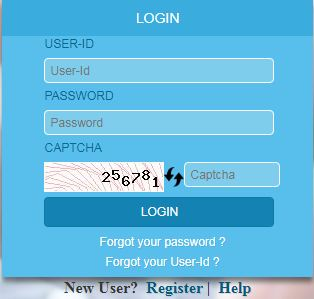 ecourt login menu