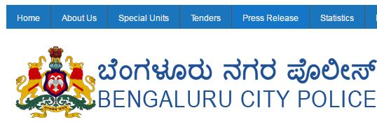 Bengaluru Police Website