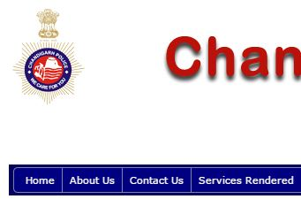 Chandigarh Police Search online copy of FIR