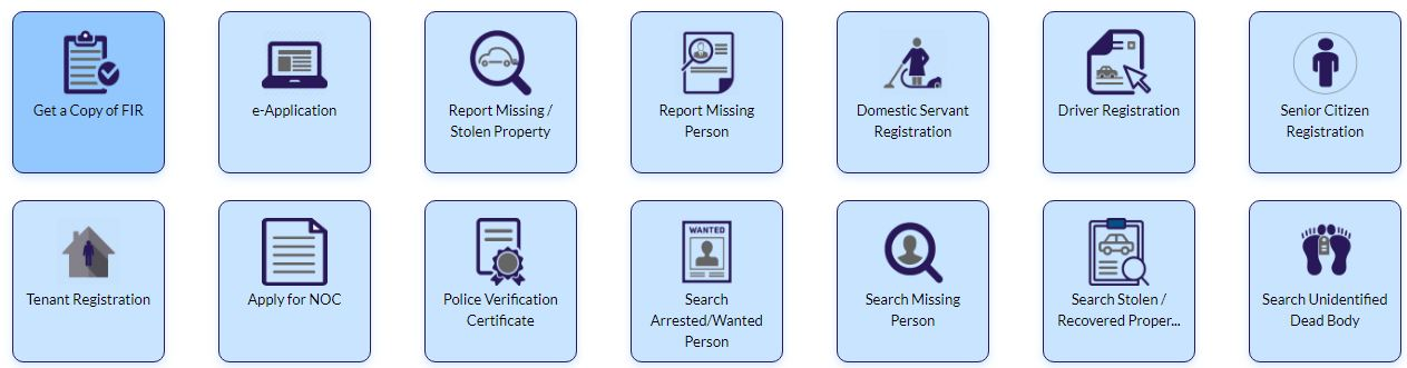 Gujarat Police Home Page Missing stolen property