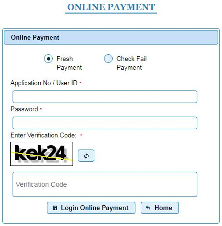 Road Tax online Payment