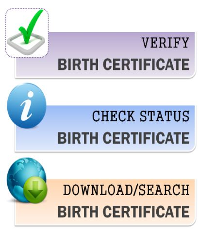 UP Birth Certificate online